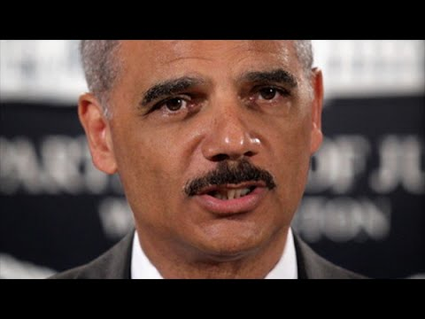 Eric Holder Delivers Hope (& A Personal Story) To Ferguson