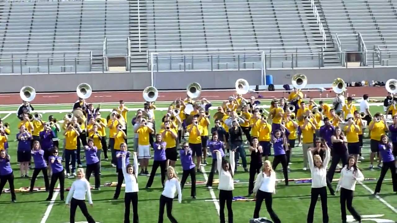 Lsu Tiger Band Plays Neck in