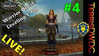 World of Warcraft Quest Leveling WARRIOR Level 26 | LIVE | Family Friendly