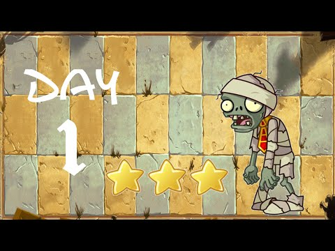 [Android] Plants vs. Zombies: All Stars - Ancient Egypt Day 1