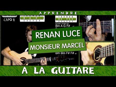 Apprendre à jouer  Monsieur Marcel de Renan Luce à la guitare