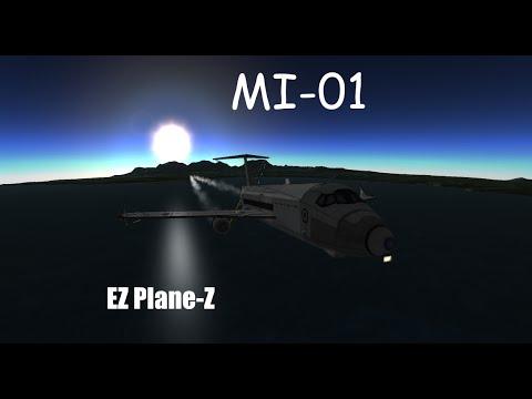 Kerbal Space Programme - Aircraft Creation - MI-01