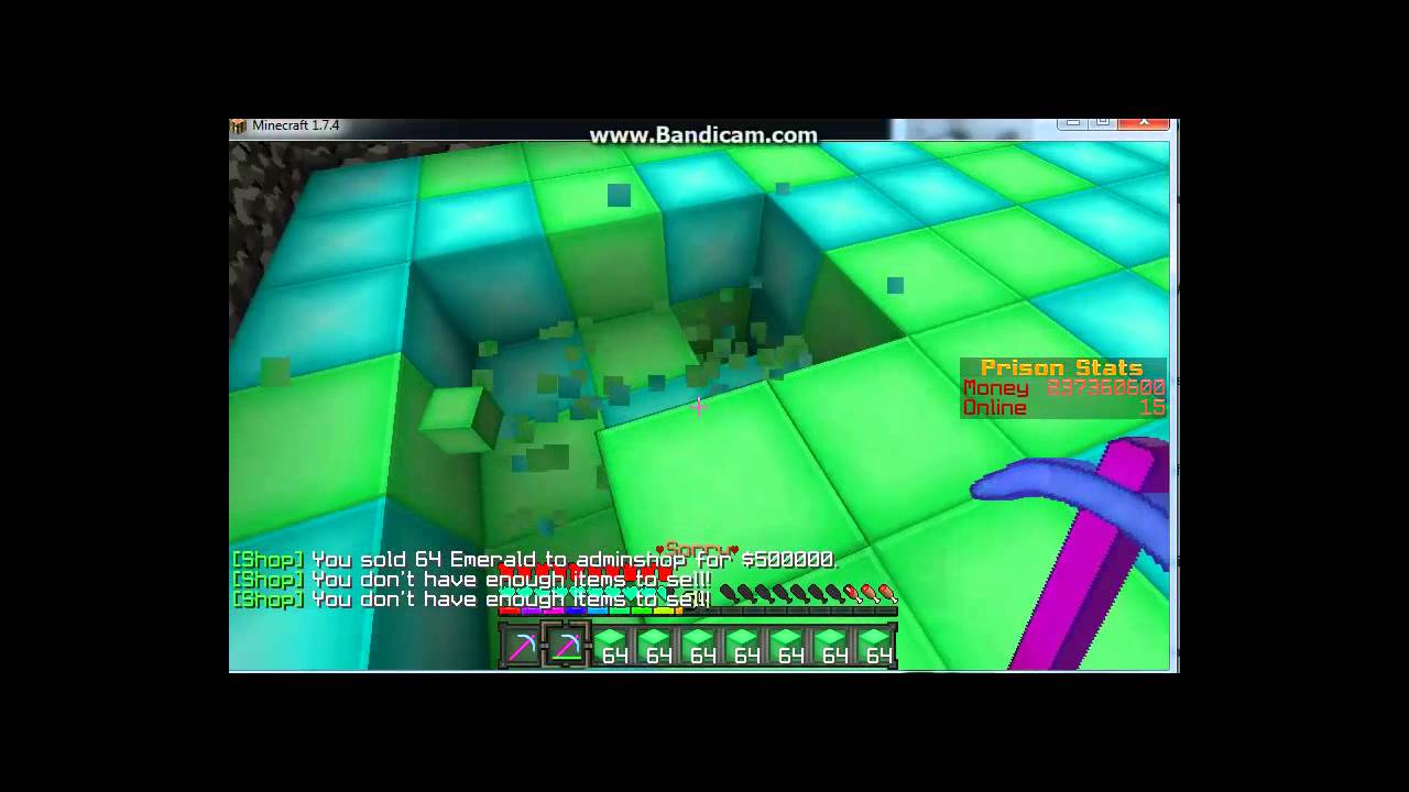 Minecraft Op Prison server YouTube