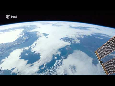 Living Planet Report launch from space