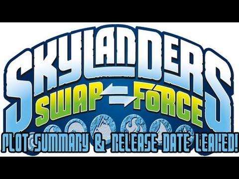 New Skylanders Swap Force Information! (Update 4!) Plot Summary & Release Date Announced!