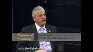 Stephen Saad - Group CEO, Aspen Pharmacare Holdings - Part 1