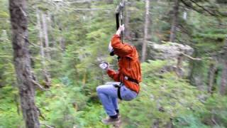 Alaska ZipLine Adventures with Levi