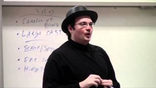 Brandon Sanderson Lecture 3: Third person viewpoints (3/5)