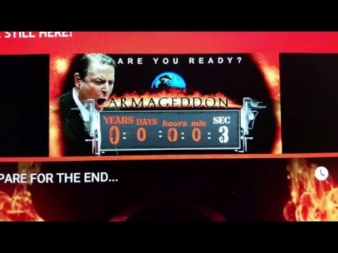 Al Gore's Doomsday Clock...Time's Up!