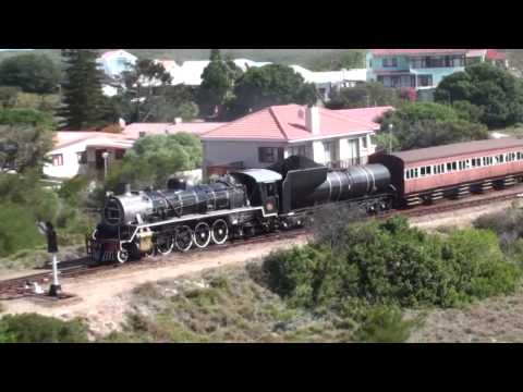 SAR Outeniqua Choo Tjoe - George to Mossel Bay 19 Oct 2009