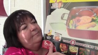 Red Copper Square Pan Unboxing and Review - As Seen on TV