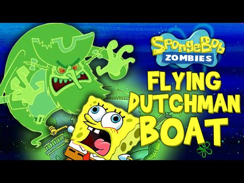 SPONGEBOB ZOMBIES: FLYING DUTCHMAN BOAT ★ Call of Duty Zombies (Zombie Games)