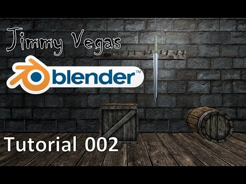 How To Use Blender For Beginners - Tutorial Part 002