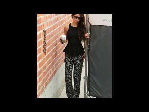 Selena Gomez look / street style Selena Gomez thumbnail