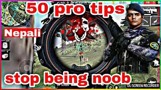 free fire pro tips and tricks in nepali : 50 pro tips to become pro player in free fire in nepali