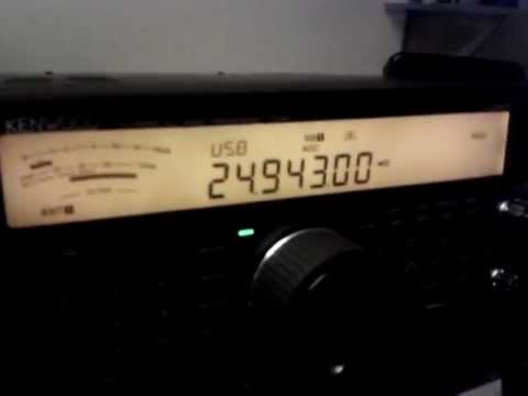 Kenwood TS-590 12 Meters SSB - NR1 - IF Filter - Test listening CU7MD - Short Version - IW2NOY