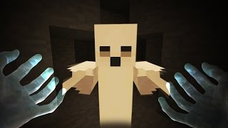 REALISTIC MINECRAFT - STEVE BECOMES A GHOST! 👻👻👻