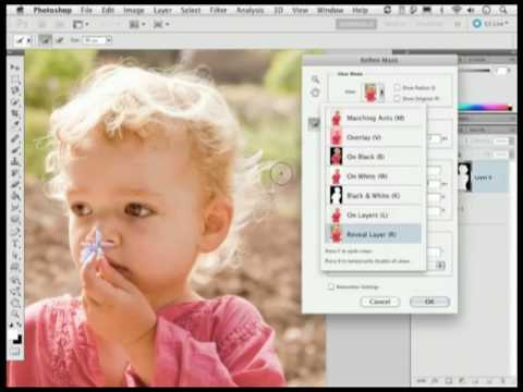 Adobe Photoshop CS5 Hair Masking