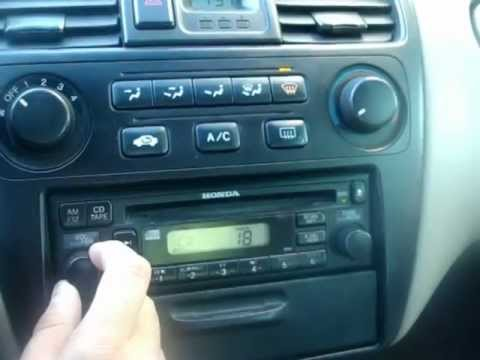 Honda Accord 2001 V6 Cuernavaca Youtube