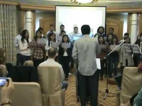 Tafatsangana tokoa - Easter 2012 - Malagasy- International fellowship - Chine