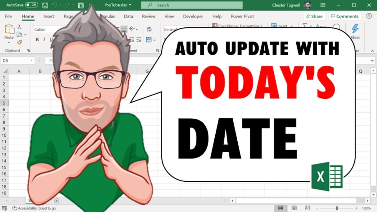 GALLERY: Excel Formulas For Dates