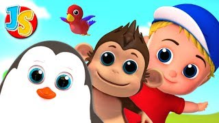 Animal Song For Children   Nursery Rhymes and Kids Song By Junior Squad