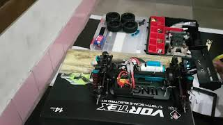 WLtoys a959 VORTEX - RC Buggy [ Chassis Metal Upgrade ] test run with SLOWMO HD