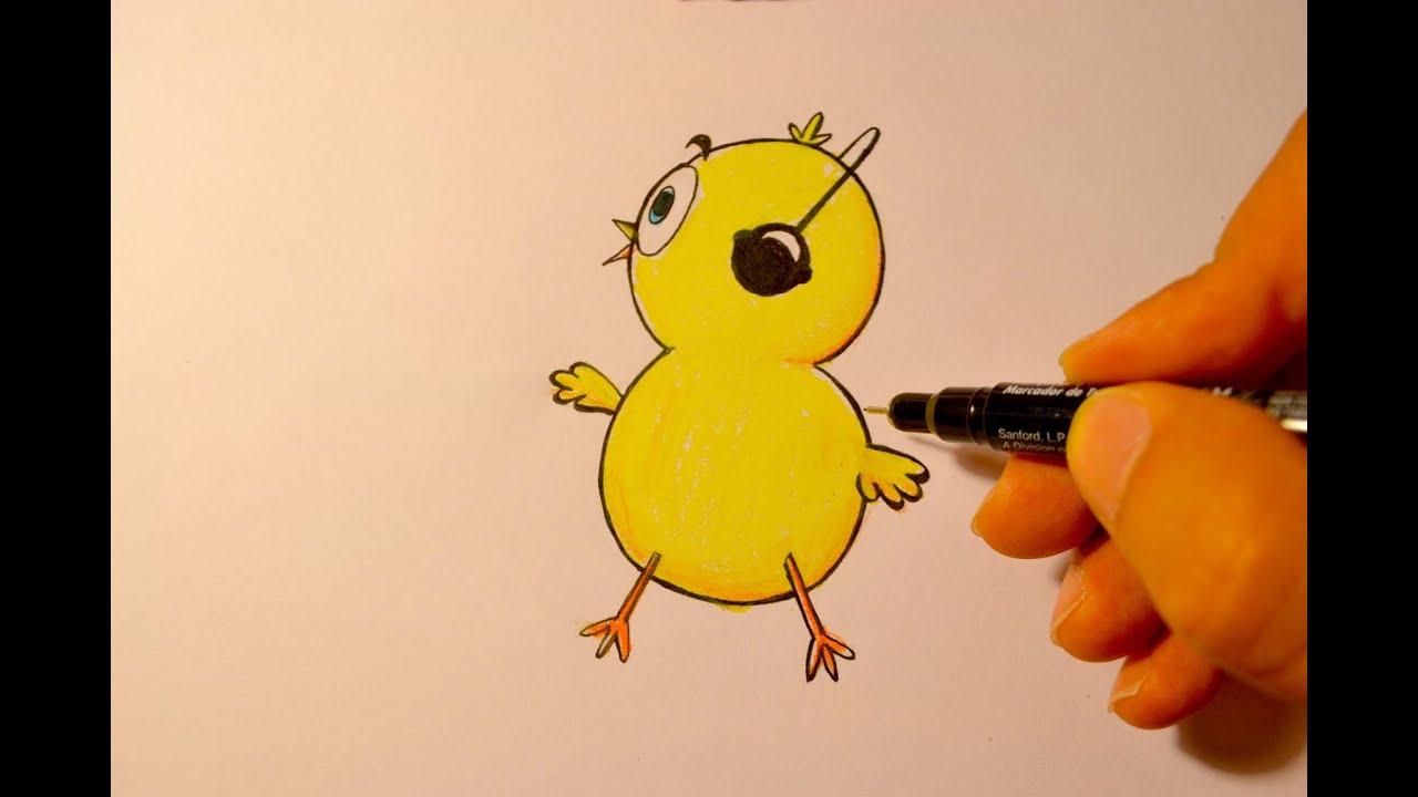 Dibuja al Pollito Pio -Artürin Ríos - YouTube