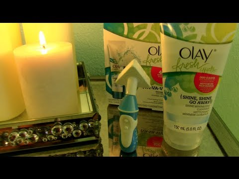 Demo + Review! Olay's Va-Va-Vivid Power Contour Cleansing System