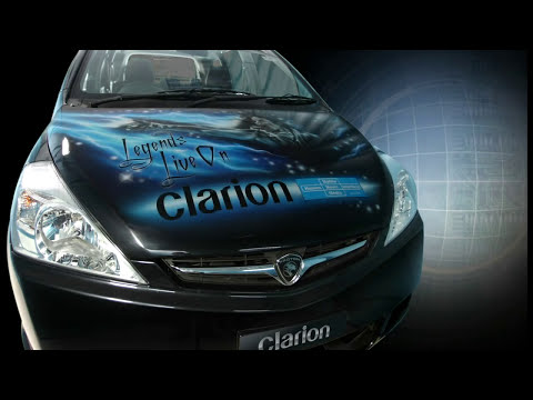 Clarion Malaysia showcar - Legends Live On