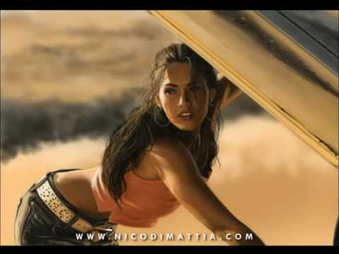 MEGAN FOX - speedpainting by Nico Di Mattia Video
