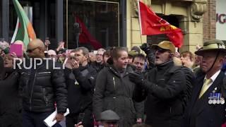 UK: Veterans march through Newcastle against 'Islamist terrorism'