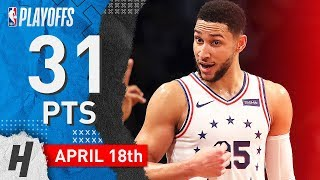 Ben Simmons Full Game 3 Highlights 76ers vs Nets 2019 NBA Playoffs - 31 Pts, 9 Assists, BEAST!