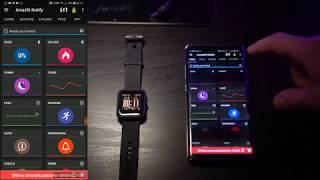 UPDATED How to Install Custom Watchface Amazfit Bip