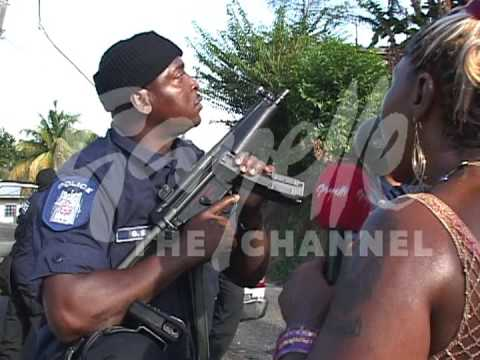 Confrontation In Laventille - Gayelle Video footage