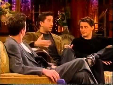 Gaby Roslin meets Friends Cast - Matthew Perry, Matt LeBlanc and David Schwimmer part 5