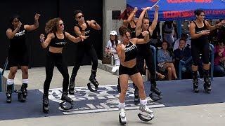 Jump Boots - New Lesbian Fitness Craze ?