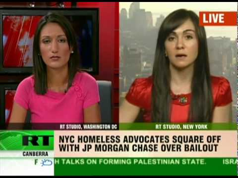 NYC homeless want bailout