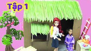 CÔ BÉ HIẾU THẢO  (Tập 1) Cùng Dựng Mái Nhà Tranh Nghèo - Búp Bê Barbie