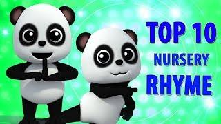 Top 10 vần điệu trẻ   trẻ em bài hát   ươm vần   Top 10 Vietnamese Rhymes   Baby Bao Panda Vietnam