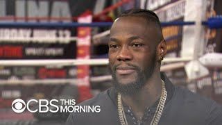 Deontay Wilder started boxing to support his daughter with spina bifida