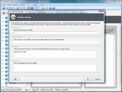 0 New Design Resources in XSitePro v2.5 Website Design Software