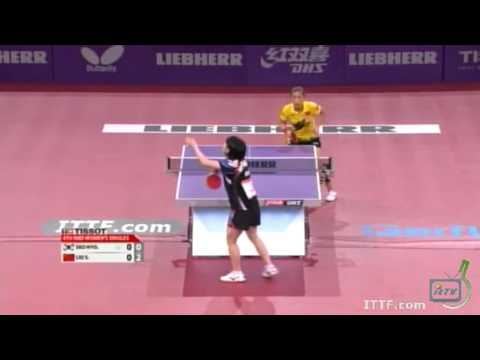 2013 World Table Tennis Championships: Liu Shiwen vs Seo Hyo Won