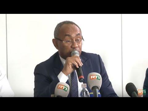 Ahmad Ahmad (Président de la CAF) promeut l'union des acteurs du football ivoirien