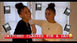WE SWITCHED CLASSES FOR A DAY! (FUNNY REACTIONS) | Montes Twins|