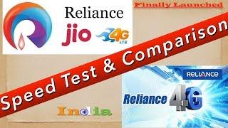 Reliance JIO 4G vs Reliance  4G Comparison & Review [ हिंदी-Hindi ]