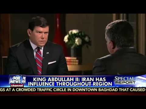 Bret Baier sits down for an exclusive interview with Jordan's King Abdullah II