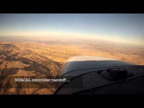 Palo Alto (KPAO) to Sacramento (KSAC) inc aircraft lost comms assistance