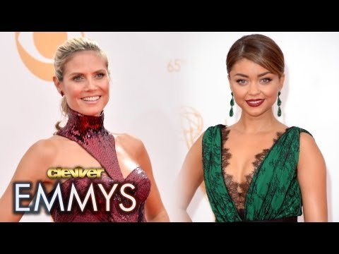 2013 Emmy Awards Best Dressed: Heidi Klum Sarah Hyland Kaley Cuoco