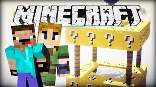 Minecraft LUCKY BLOCKS BATTLE - 3 BRUNNEN AUF EINMAL!